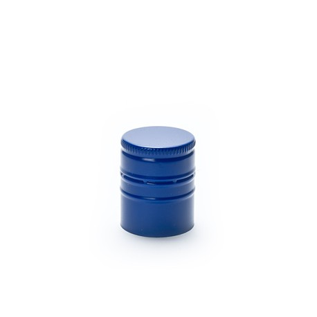 Aluminum closure ?28 x h38mm Dark-blue color (EPE) 2000 pc