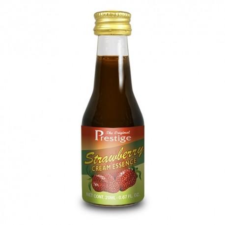 Flavouring Essence 20ml Prestige Strawberry Cream for 750ml