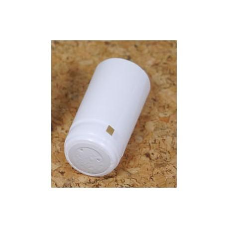 Термо-колпачки для бутылок 31x65мм белые 100 шт.