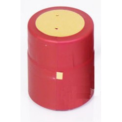 Thermo caps for bottles 32x40mm burgundy 100pcs.