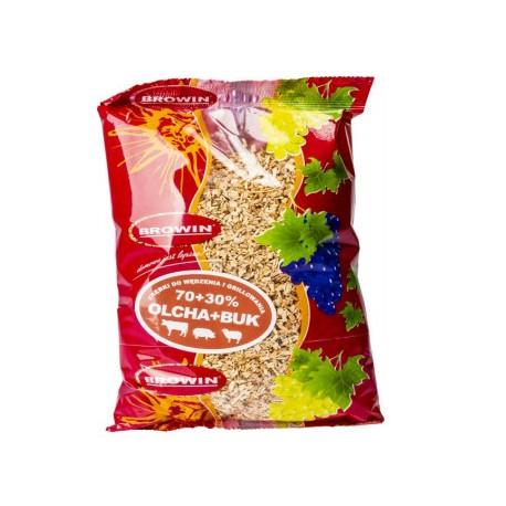 Zum Grillen von Chips 70% Erle, 30% Buche 450gr (KL02 - fein)