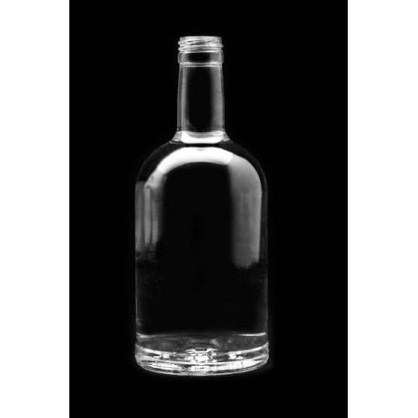 Stiklinis butelis 500ml su sriegiu ?28mm (8 vnt.)