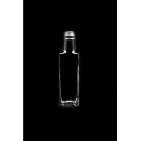 Glasflasche Granit 100ml mit Gewinde 28mm 20Stk / Pack.