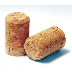 Natural champagne cork 30,5x48mm, 100pcs.