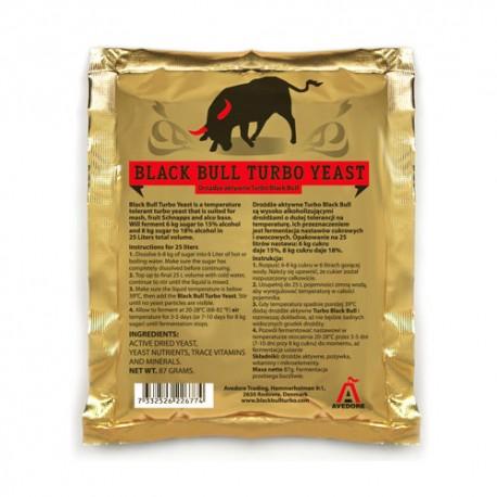 Black Bull Turbo Yeast 14-18%