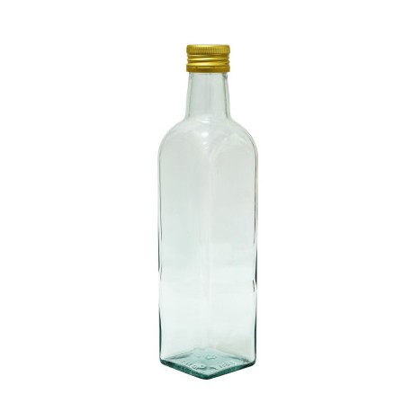 Butelis MARASCA 500ml su metaliniu dangteliu