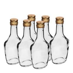 Bosmanska - Glasflasche 250ml mit Stopfen (6 Stk.)