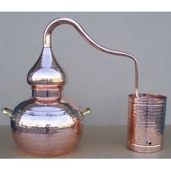 1L vasest destilleerimisaparaat Coppers Traditional Alembic Still