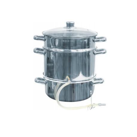 Juice extractor-steam boiler 12L