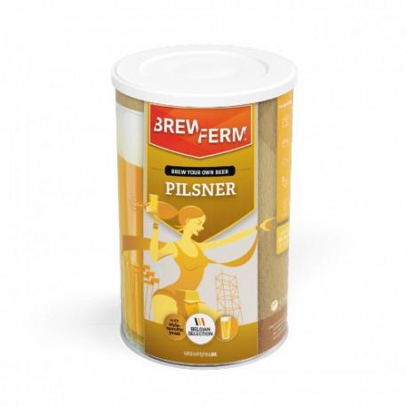 Beer kit BREWFERM Pilsner for 20L. ABV: 5.2%