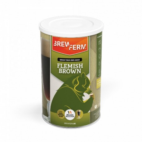 Beer kit BREWFERM Flemish Brown for 12L ABV: 6,8%