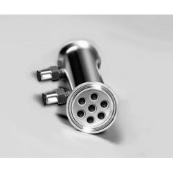 Deflegmator ?51mm, 7 tubes ?10mm, length 200mm