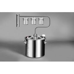 Distiller Stars 30L from stainless steel