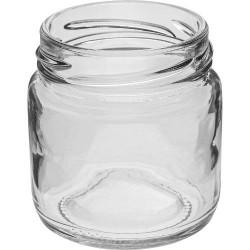 Glass jar 106ml with thread and cap Ø53mm, 6 pcs.