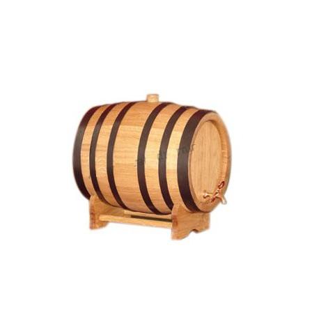 Oak barrel (20L) with crane