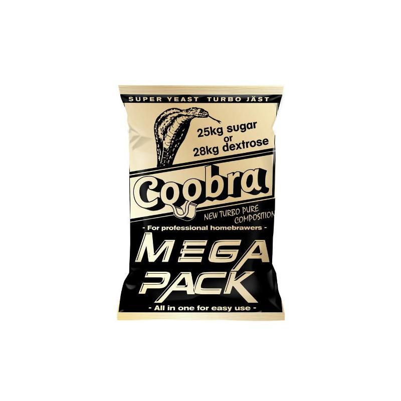 "Turbo raugs ""Coobra MEGA PACK"" 390g (100L 18%)"
