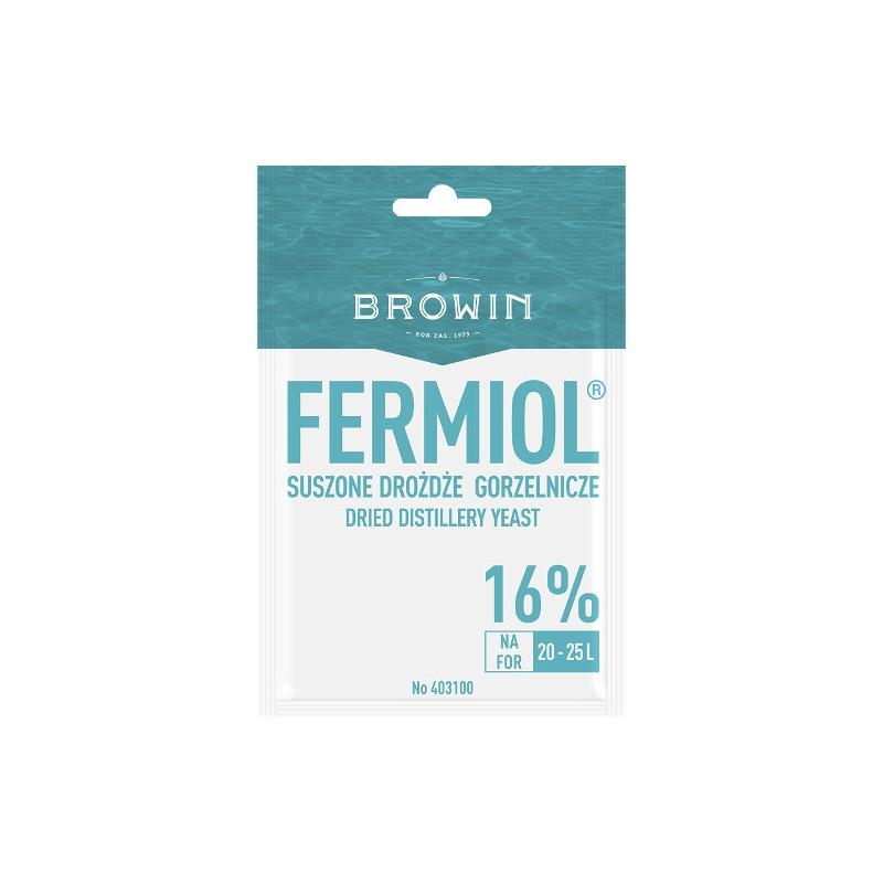 Dry distilling yeast FERMIOL 7g 16% 20-25L