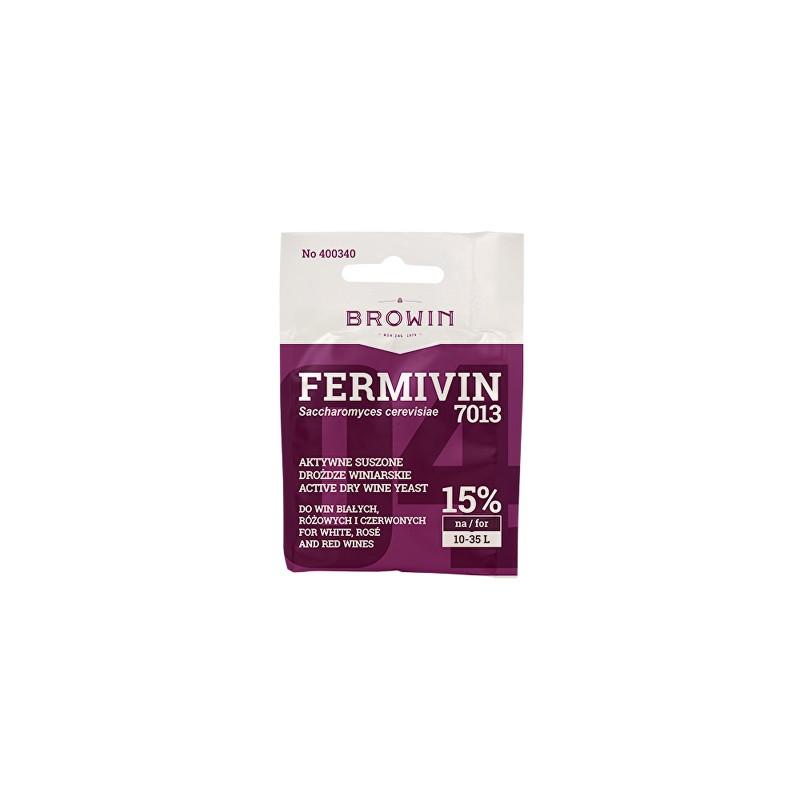 Vīna raugs FERMIVIN (sausais) sarkan/baltvīniem 14% 7g