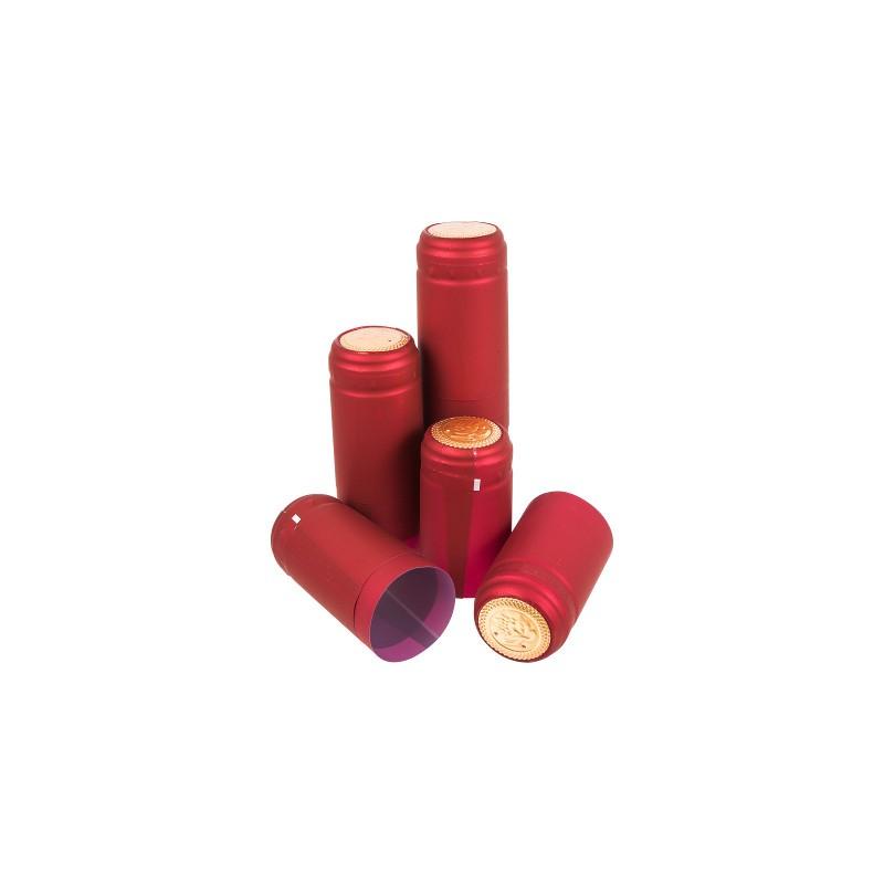 Sarkani vāciņi ar perforāciju Ø31x55mm 100gab
