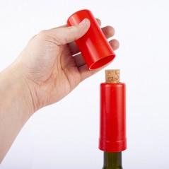 Cork press for wine bottles