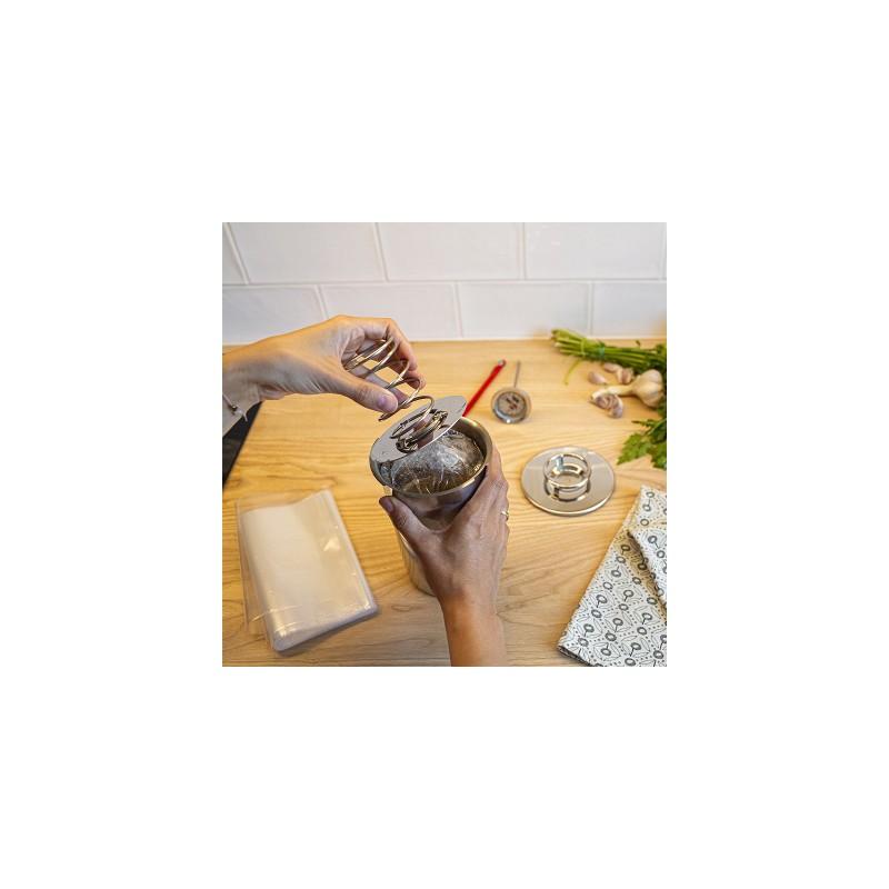 Полиэтиленовые пакеты (20шт.) для контейнера для приготовления домашней ветчины