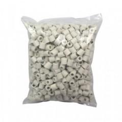 Filler for rectification columns, ceramic Raschig rings 1 liter, 10x10mm
