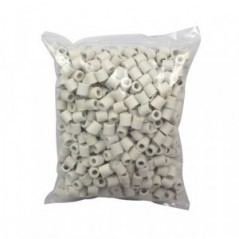 Füllstoff für Rektifikationssäulen, Keramik-Raschig-Ringe 1 Liter, 10x10mm