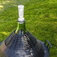 Cilindriskais klusais hidroaizvars ar vāku