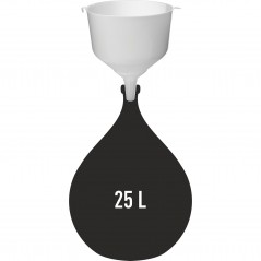 Plastmasas piltuve ø 25 cm ar palielinātu ietilpību