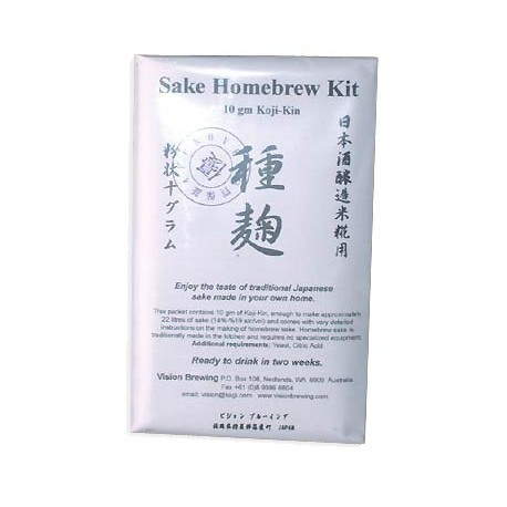 Koji-Kin-Trockenkultur, um Sake 10 g pro 22 Liter trinken zu lassen