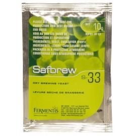 Сухие пивные дрожжи SAFBREW S-33 11,5г