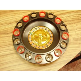 Alcohol Roulette Set With Shot Glasses