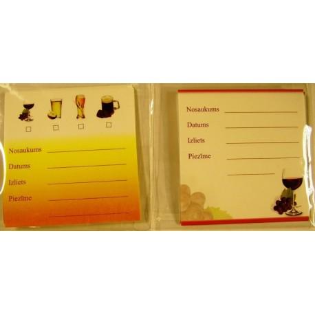 Self-adhesive labels 20 pcs.