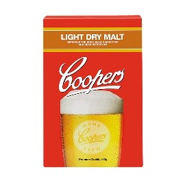 Sausais iesals Coopers Light Dry Malt 500g