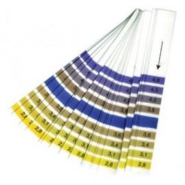 Ph test strip 2,8-4,6 (comboucha) 20 pcs.