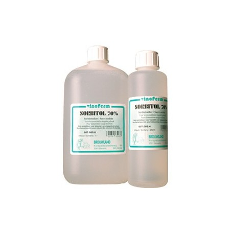 Sorbitol liquid 70% 250 ml (325 gr)