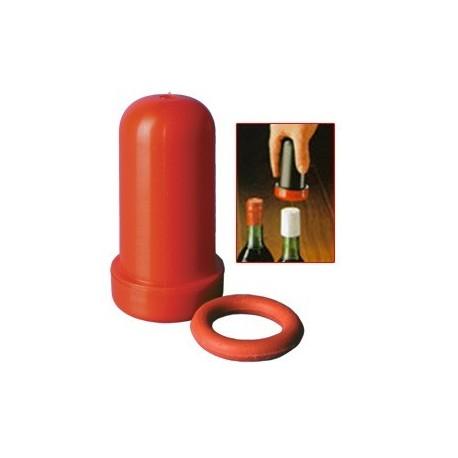 Vorrichtung zum Pressen von Folienweinkappen