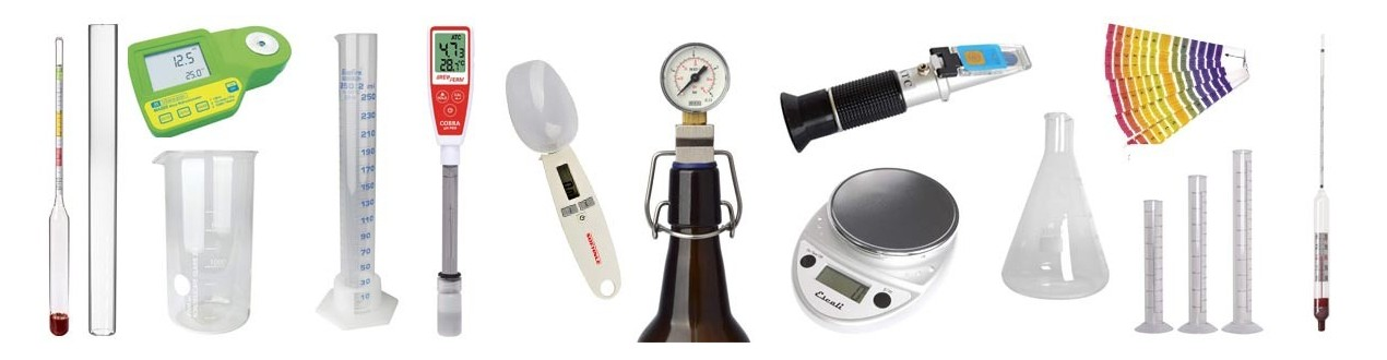 Laboratory accessories and measuring devices