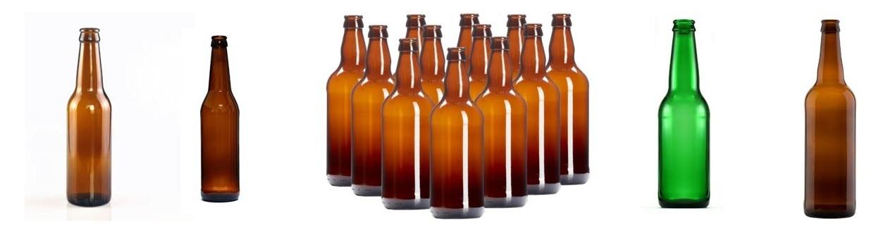 Stikla alus pudeles
