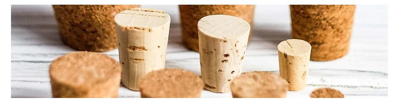 Conic corks