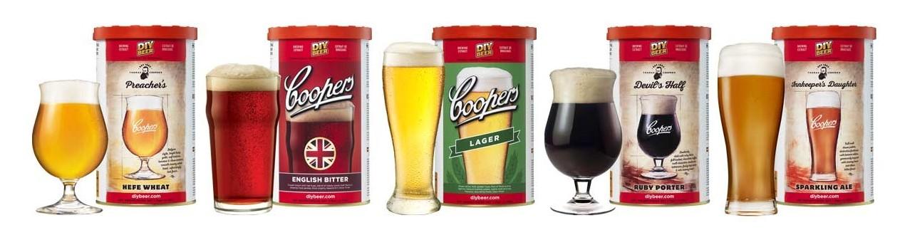 Beer malt extracts Coopers