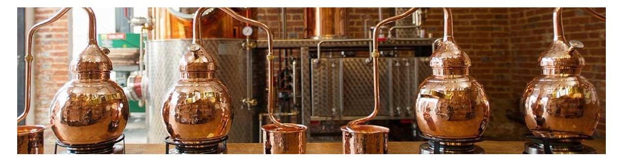 Destillation und Herstellung von Spirituosen