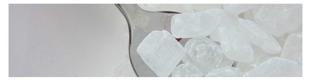 Zucker in Lutschern