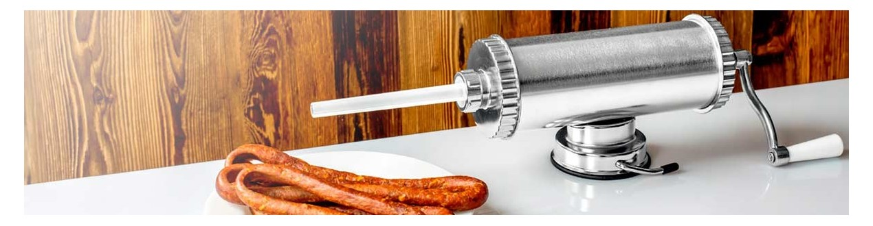 Sausage filling devices