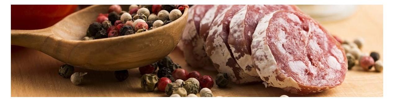 Seasonings for sausages, meatballs, ham and fish