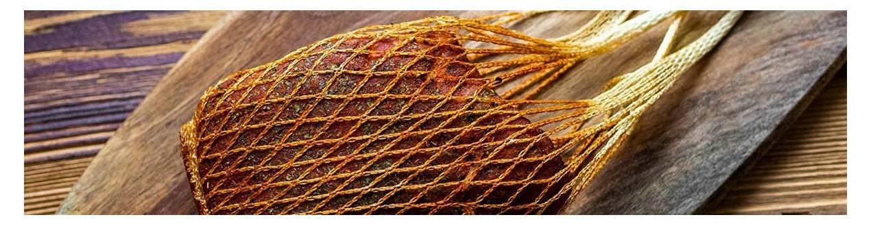Hüllen und Netze für Fleisch und Wurst