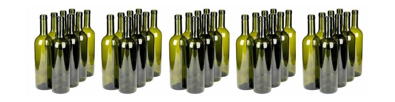 Großhandel mit Weinflaschen