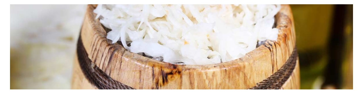 Wood barrels for sauerkraut