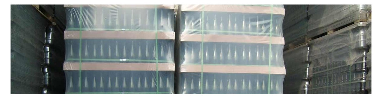Wholesale of glass bottles