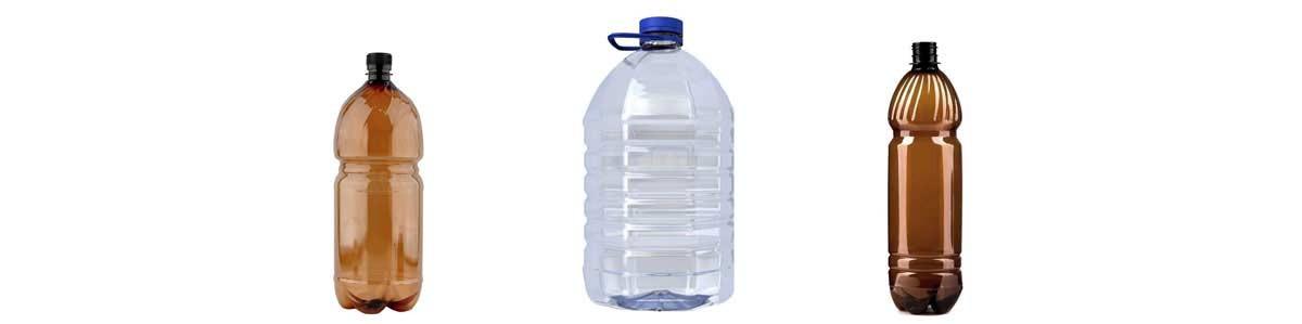 Plastist PET-pudelid